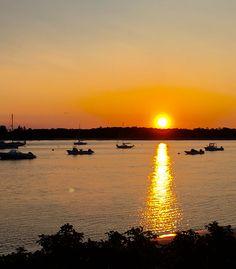 Sunrise on Pine Point harbor