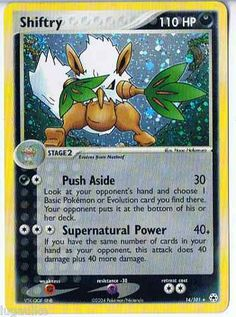 Pokemon Card EX Hidden Legends Rare Holo Shiftry 14/101 FREE Combined Shipping