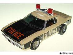 AMC Matador Police cruiser  one fast AFX HO Slot Car!