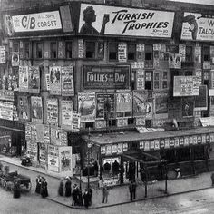 Times Square, 1909.  Note: I found this image while browsing the photos posted by the Instagram user named: History In Pictures (@historyphotographed on Instagram). #triciadaniels