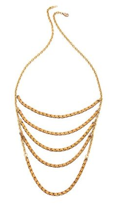 serefina Rope Layered Necklace