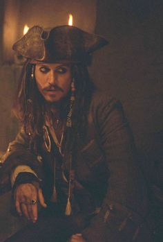 Captain Jack Sparrow I'd marry Captain Jack anyday