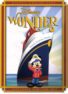 Photo: This Photo was uploaded by Find other pictures and photos or upload your own with Photobucket fr. Disney Cruise Door, Disney Printables, Mikey, Disney Posters, Walt Disney World Vacations, Mickey Minnie Mouse, Disney Magic, Disney Movies, Disneyland