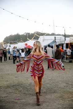 Crochet and fringe❤️. Pinterest/TatiRocks⭐️ #Festival