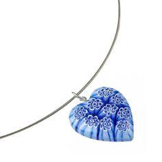 Hearty Love Pendant: Murano Glass I MY MAGNIFICO