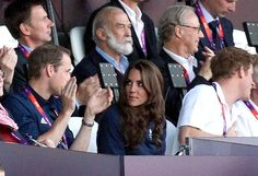 Kate Middleton Photos - Will and Kate at the Olympics 2 - Zimbio