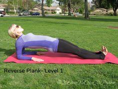 Reverse #plank level 1