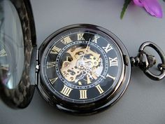 Premium Victorian Black & Gold Mechanical by ArtInspiredGifts