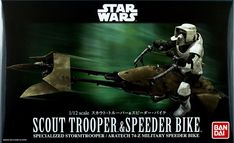 Bandai Speeder Bike and Scout WIP (AndyRM101)