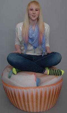 Beanbag chair  - Cupcake Adult size Beanbag chair.    link: