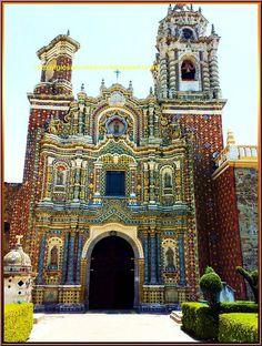 Flickriver: Photoset '0284 Templo San Francisco Acatepec,San Andrés Cholula,Puebla,México' by Catedrales e Iglesias