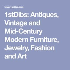 1stDibs: Antiques, Vintage and Mid-Century Modern Furniture, Jewelry, Fashion and Art Rustic Log Furniture, Bohemian Furniture, Cool Furniture, Rattan Furniture, Antique Furniture, Modern Game Tables, Cool Tables, Side Tables, Grey Round Dining Table