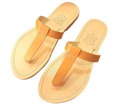 70efd0b9984d Ancient Greek Style Leather Sandals Thong Roman Handmade Womens Shoes  Gladiator Spartan EPIMETHEUS Flat Heel Slide