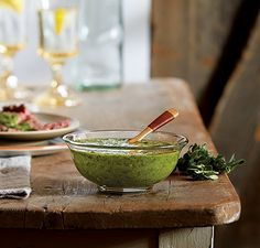 Chimichurri Pair this spicy marinade or dipping sauce with grilled fish, chicken, red meats, or sausages.