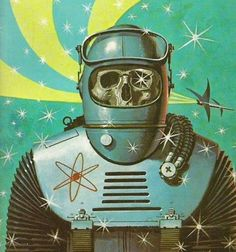 Retro sci-fi amazingness by Ed Valigursky.