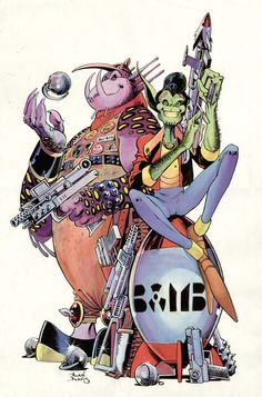 D.R. and Quinch by Alan Davis