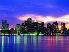 Boston Skyline, Massachusetts