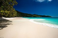 Anse Lazio, on Praslin Island, in the Seychelles #Beaches #Paradise #Amazing
