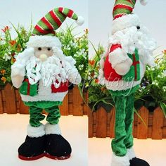 Chritmas Home Decor Doll Santa Claus Christmas Gift Ornaments Decor High Quality #Unbranded