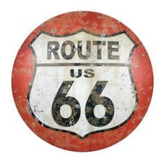 """Love This Old """"Route 66""""  Vintage Sign!"""