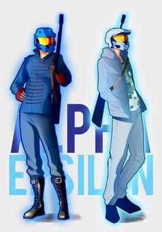 •Alpha Epsilon by Synnesai