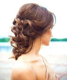 Simple Wedding Hairstyles, Short Wedding Hair, Fringe Hairstyles, Box Braids Hairstyles, Short Hairstyles For Women, Pretty Hairstyles, Bridesmaid Hairstyles, Feathered Hairstyles, Hairstyle Ideas