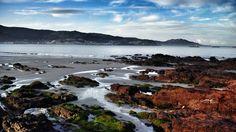 playa, paisaje