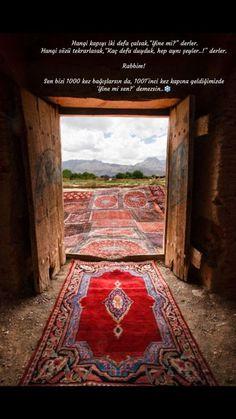 Sana ve sonsuz merhametine hamdolsun - Carpets Mag Islamic Posters, Turkish Language, Shag Carpet, Carpet Trends, Allah Islam, Carpet Styles, How To Clean Carpet, Carpet Runner, Cool Words