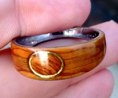 Ever seen rings like these ones online? Well guess what. You're going to learn how to make one exactly like the two being held in the photo. That's what this...