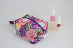 Purple Haze Ripstop Medium Wash Box Bag  by LottieDeanBags on Etsy