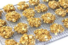 Simple enough for the kids to make. The mixture could also cooked in a microwave baking dish for 4-5 minutes. Cut into squares while warm. The baked oaties are pale in colour.