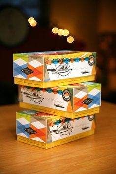 retro boxes French Paper