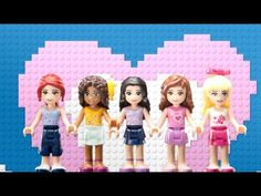 Right Where I Belong - LEGO Friends - Music Video - YouTube