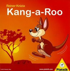 In Kang-a-roo the players collect kangaroos by playing cards from their hand. When all the cards have been play Board Games For Kids, Kids Board, Bord Games, Family Games, Party Games, Trading Cards, Scooby Doo, Things That Bounce, Snoopy