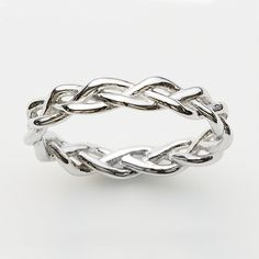 Plait Ring in Silver  http://pinkloulou.com/pink-loulou-entwined-1/Plait-Ring-in-Silver-Small