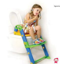 Orinal, adaptador para el wc y escaleras, todo en uno