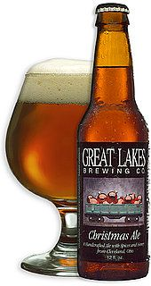 Cleveland's own Great Lakes Brewing Company Christmas Ale