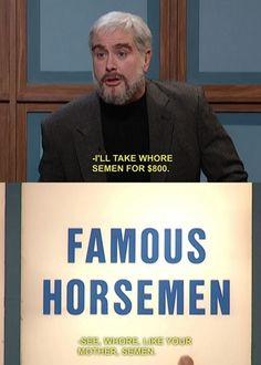 "10 Iconic Misreadings Of SNL ""Celebrity Jeopardy"" Categories"