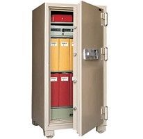 Mesa Safe all steel MFS140E professional grade 2 hour commercial fire safe is perfect for protecting large volumes of documents & valuables.
