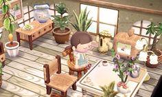 ✿ Animal Crossing New Leaf ✿ Animal Crossing Qr Codes, Animal Crossing Wild World, Animal Crossing Pocket Camp, Decorating Living Room Shelves, Living Room Decor, Animal Games, My Animal, Animal Room, Acnl Paths