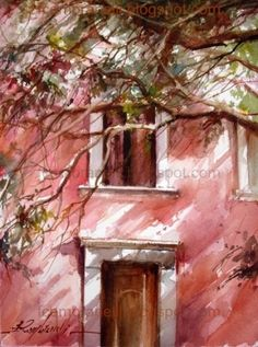 Roussillon II, painting by artist Fabio Cembranelli