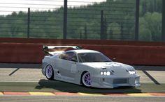 Asseto Corsa - Toyota Supra Time Attack - Spa-Francorchamps
