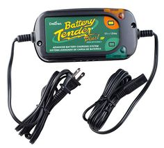 9. Battery Tender Plus Battery Charger/Maintainer