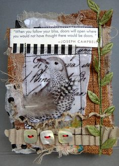 The Word is Art by Renee Troy: Small scale art - great mini cover
