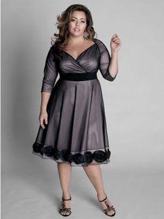 plus size dress outfits elegant