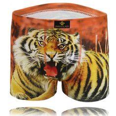 Men underwear Boxers New Sexy Men Print boxers Spandex Cotton underwear men cuecas Boxers Fashion Denim Men's shorts boxer