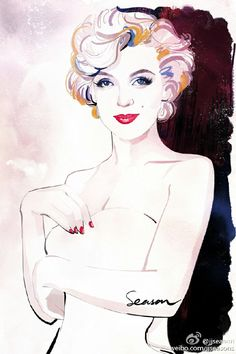 ★ Marilyn Monroe ♡ Old Hollywood ★ Arte Marilyn Monroe, Marilyn Monroe Wallpaper, Marilyn Monroe Drawing, Marilyn Monroe And Audrey Hepburn, Marilyn Monroe Photos, La Reproduction, Pin Up, Illustration Art, Illustrations