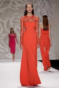 Monique Lhuillier Ready To Wear Spring Summer 2014 New York #MBFW #NYFW