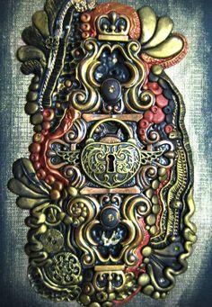 RoyalKitness - steam punk lock journal cover