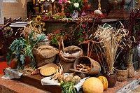 Thanksgiving altar in the Parish Church, Spitz, Wachau, Waldviertel, Forest Quarter